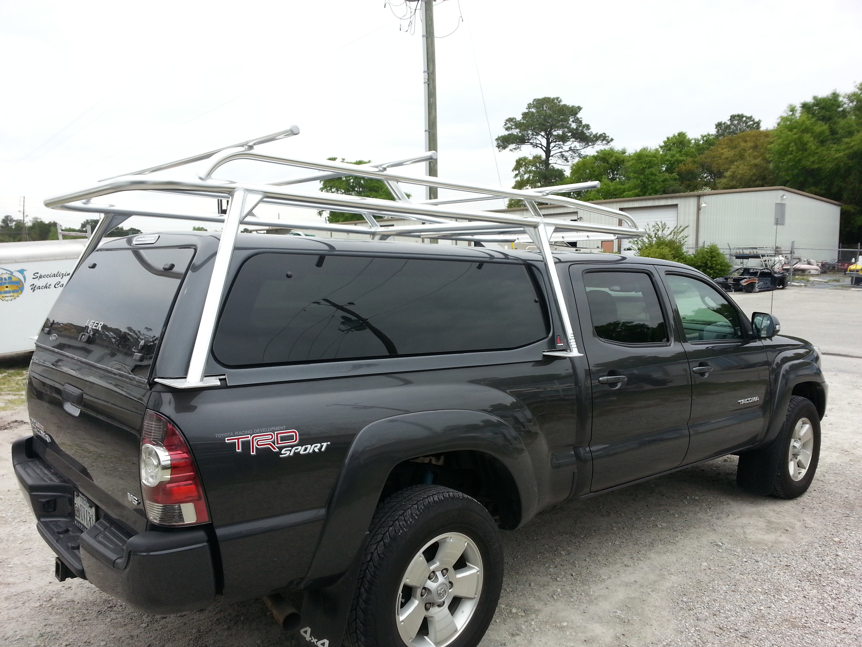 rack p racks truck to rtt bed tacoma low profile
